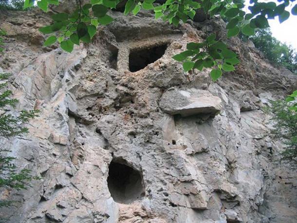 The cave site of Choukoutien