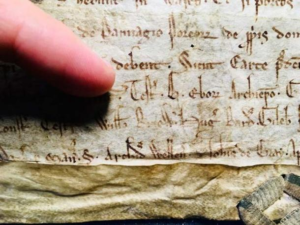 The charter. (Bristol University)