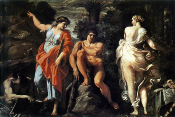 The choice of Heracles. (Chick Bowen / Public Domain)