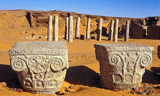 The church of granite columns, Dongola (Lucia A / CC BY-SA 3.0)