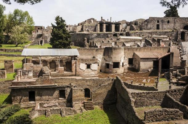 The city of Pompeii