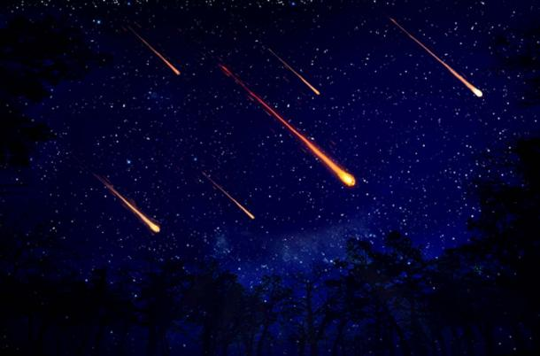 The clear dark sky at Cumberland Gap NHP's Hensley Settlement is perfect for viewing the Perseid Meteor Shower! (NPS)