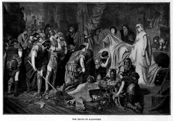 The death of Alexander the Great. (Tarawneh / Pubic Domain)
