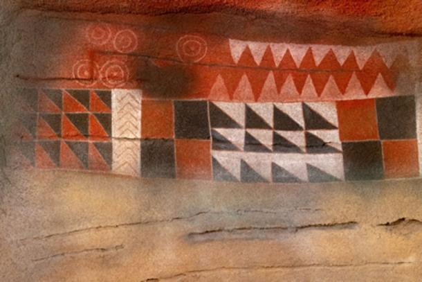 The designs at Cueva Pintada would have been difficult to create.