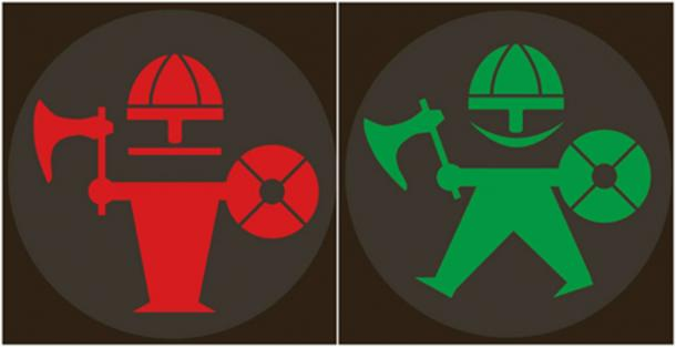 The designs of the new traffic lights in Aarhus. (Aarhus Kommune)
