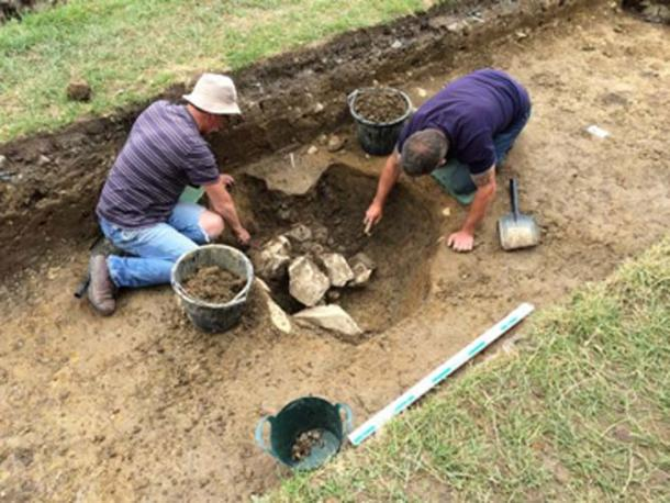 The dig at the medieval Norman Monastery. (Beaubec Excavations / Fair Use)