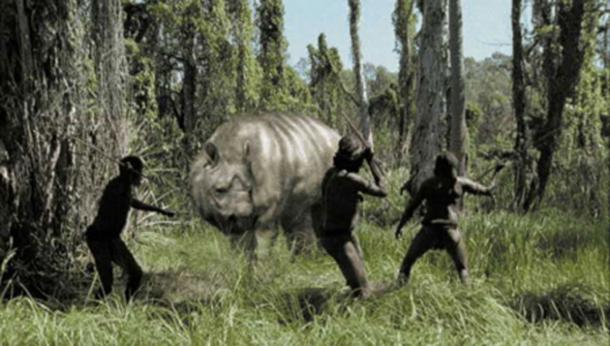 The diprotodon, monsters we met. (Dinopedia)