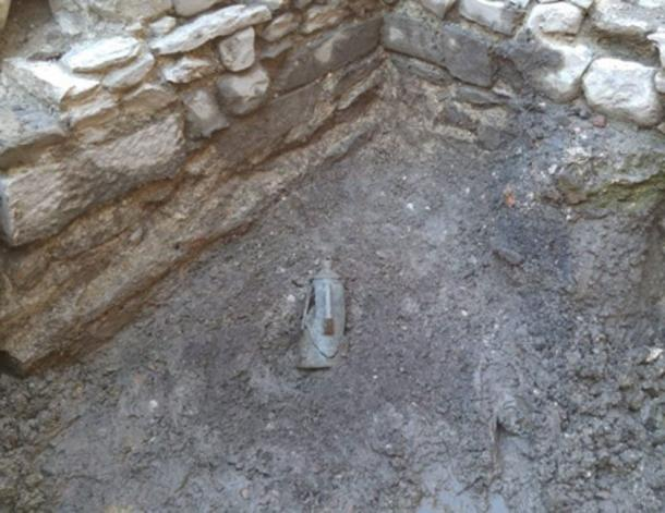 The discovery was made in the basement floor of a private house. (Image: MiBAC)