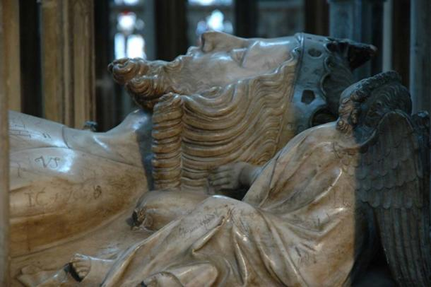 The effigy of Edward II, in Gloucester Cathedral. (Philip Halling / CC BY-SA 2.0)