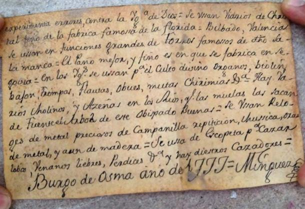 The end of the document is dated 1777 and signed but has yet to be authenticated.