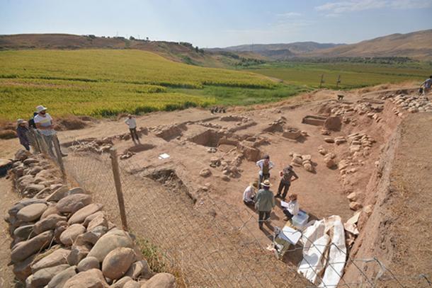 The excavation site at Basur Höyük, Turkey. (Başur Höyük Research Project)