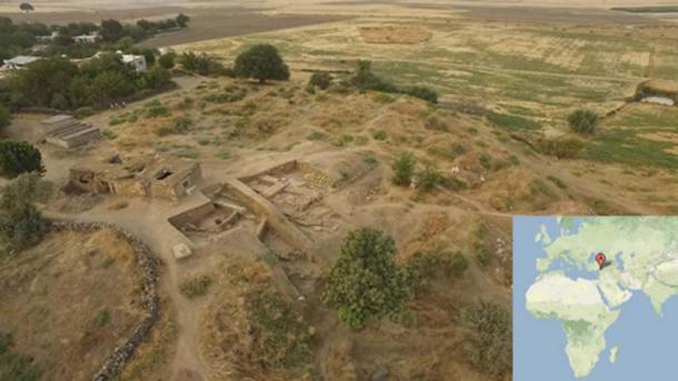The excavation site at Zincirli, southern Turkey. (Lucas Stephens)