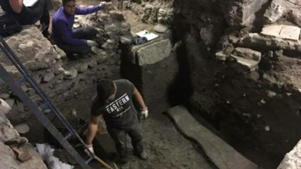 The excavation site. (Gespad Al-Andalus Arqueología/Facebook)