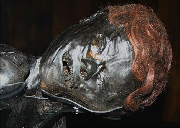 The face of the Grauballe Man. (Yerpo / CC BY-SA 3.0)