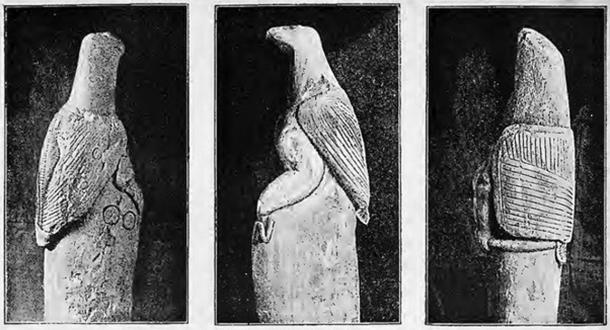 The famous soapstone birds. (Public Domain)