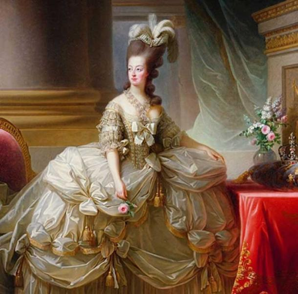 "The figure of Queen Marie Antoinette is connected with excesses of the upper class and heartless rulers. The words ""Let them eat cake"" (in the face of public starvation) is famously attributed to her, however it's now felt she never said it. (Public Domain)"