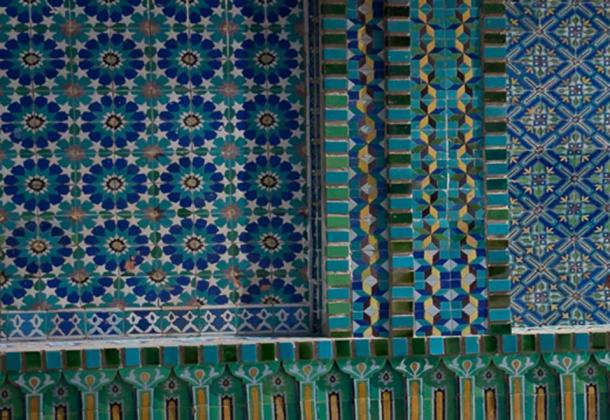 The geometric patterns of the tiles (timsimages.uk/ Adobe Stock)