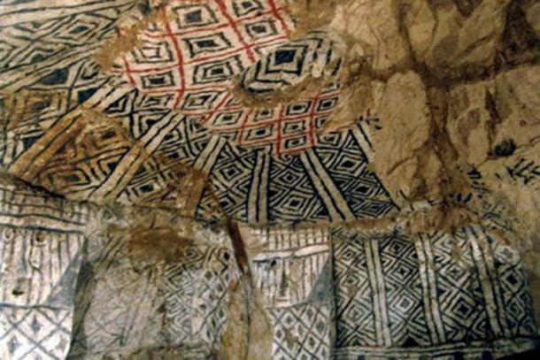The geometric patterns of the tombs (Nick Leonard / CC BY-SA 2.0)