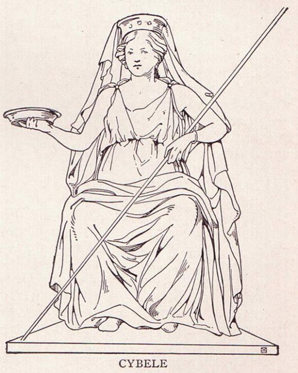 The goddess Cybele