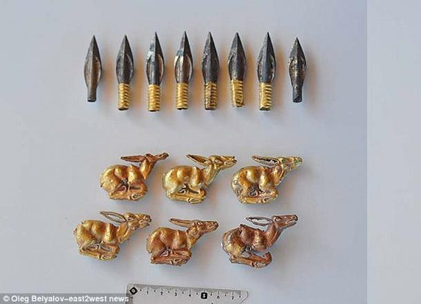 The high-level metalwork exhibits the advanced skills of the Saka people. (Image: © Oleg Belyalov/ east2west news)