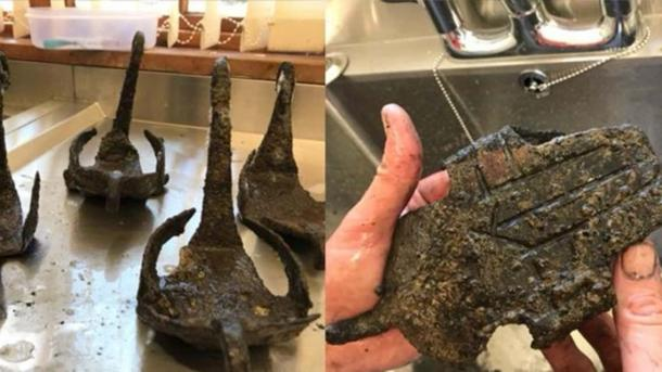 The hipposandals, which were found by a volunteer, are well-preserved. (Image: Vindolanda)