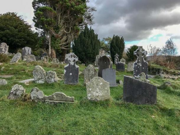 The historic graveyard at Glendalough. (Ioannis Syrigos)