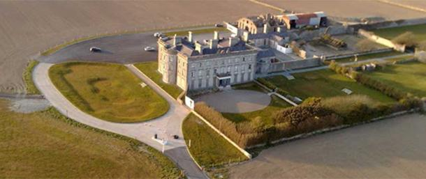The impressive Loftus Hall Estate.