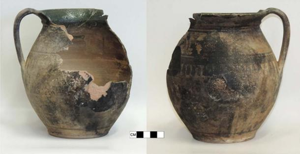 The infant with green bones was buried in a ceramic pot buried at the edge of the cemetery. (János Balázs)