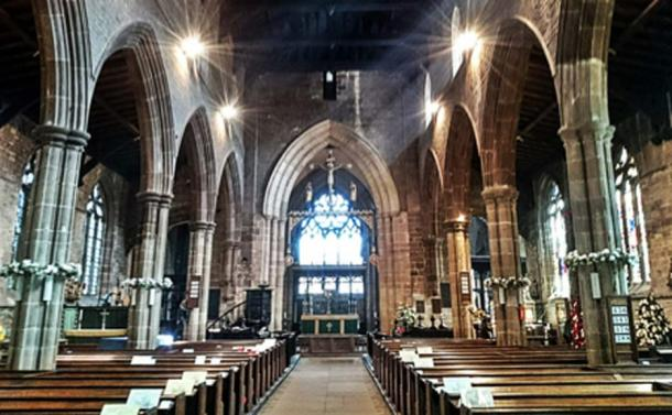 The interior of Saint Mary and All Saints (Photo by Flanagan, J)
