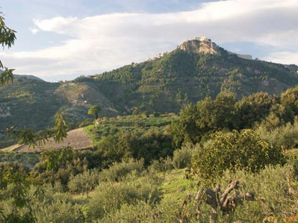 The jars were found in a cave near Monte Kronio, Agrigento, Sicily