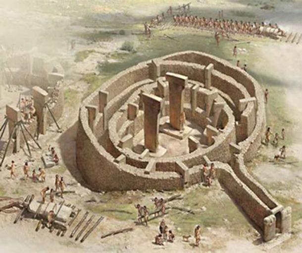 The lingam temple of Gobekli Tepe, an ancient home of the Yezidis in southern Turkey