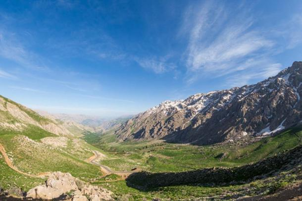 The lost city was found near the Zagros Mountains, pictured (sghiaseddin / Adobe Stock)