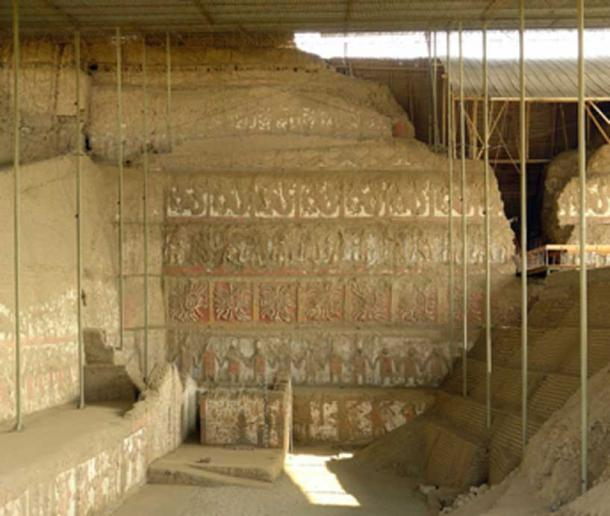The main mural of the Huaca de la Luna. (S23678 / CC BY-SA 3.0)
