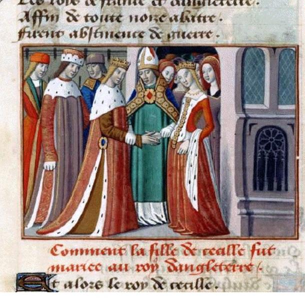 The marriage of Henry VI and Margaret of Anjou. (histoire-fr.com / Public Domain)