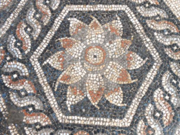 The mosaic had distinctive elements unique to the Roman-Egyptians style. (Ministry of Antiquities / Facebook)