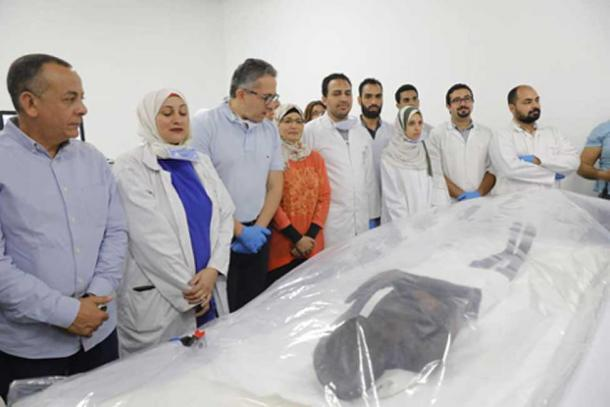 The mummies will be restored and put on display. (Ministry of Antiquities)