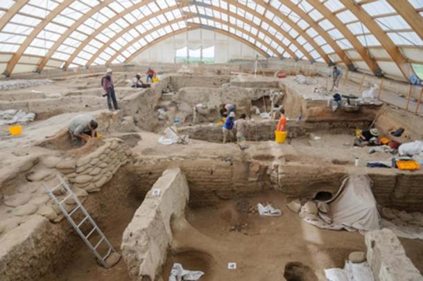 The new report results built on a 25-year human investigation remain steeped in Çatalhöyük. Scott Haddow / Ohio State University