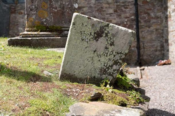 The oldest gravestone at St Mary's Collegiate Church. Credit: Ioannis Syrigos