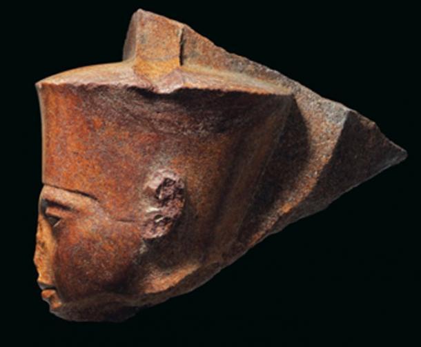 The origin of the King Tut statue is still in dispute. (Christie's)
