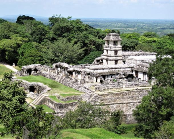 The palace at Palenque. (© georgefery.com / Author Supplied)