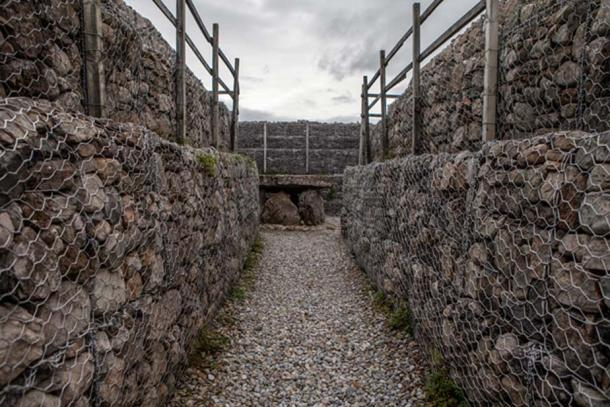 The passageway in the largest passage tomb at Carrowmore, known as the Listoghil. (Image: Ioannis Syrigos)