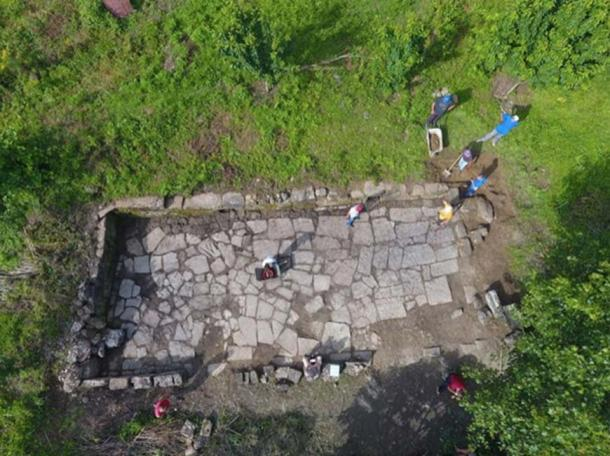 The remains indicate that the city would have been larger than the nearby Shkoder. (Image: M. Lemke/ Science in Poland)