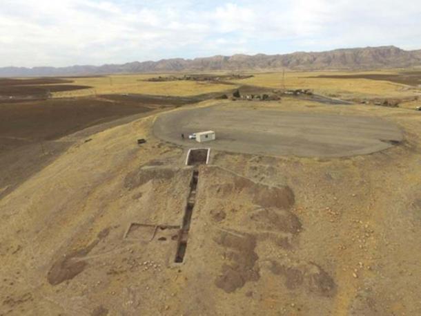 The remains of the royal city of Mardama in Bassetki, Iraq. Credit: Matthias Lang/ Benjamin Glissmann, University of Tübingen eScience-Center