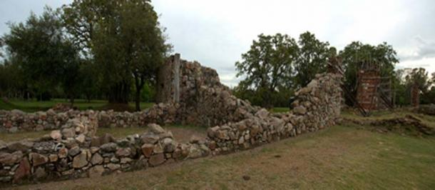 The ruined walls at Calera de las Huérfanas (Fedaro / CC BY-SA 3.0)