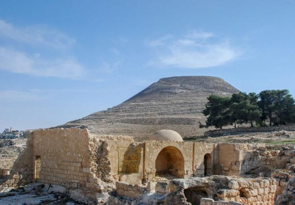 The ruins of Herodion or Heroduim, the fortress of King Herod where the ring was found. (vadiml / Adobe)