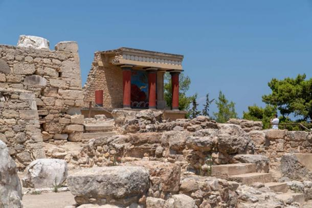 The ruins of Knossos palace, as they are today. (Ioannis Syrigos)