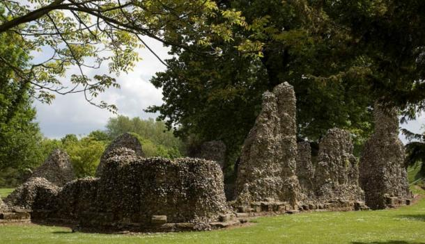 The ruins of the Abbey of Bury St. Edmunds