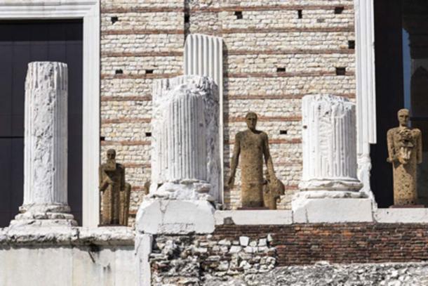 The ruins of the main temple (J. Ossorio Castillo/Adobe Stock)