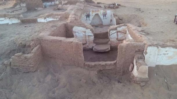 The second tomb is located to the east of the first. (Ahram Online)