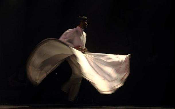 The semazen, or Whirling Dervish, dances the Sema.